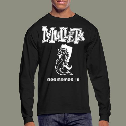 mulletmain white - Men's Long Sleeve T-Shirt