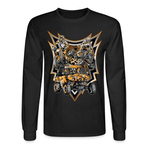 Extreme Life Style Orange - Men's Long Sleeve T-Shirt