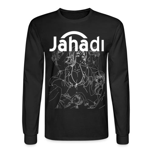 HADIBITCHESWHITE - Men's Long Sleeve T-Shirt