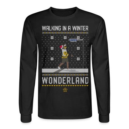 2018_Walking Winter Wonde - Men's Long Sleeve T-Shirt