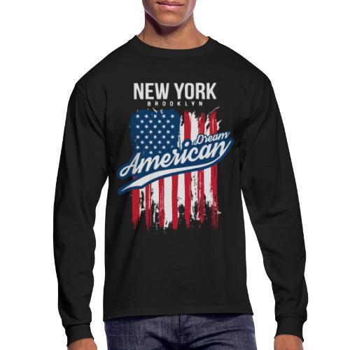 nyc new york brooklyn - Men's Long Sleeve T-Shirt