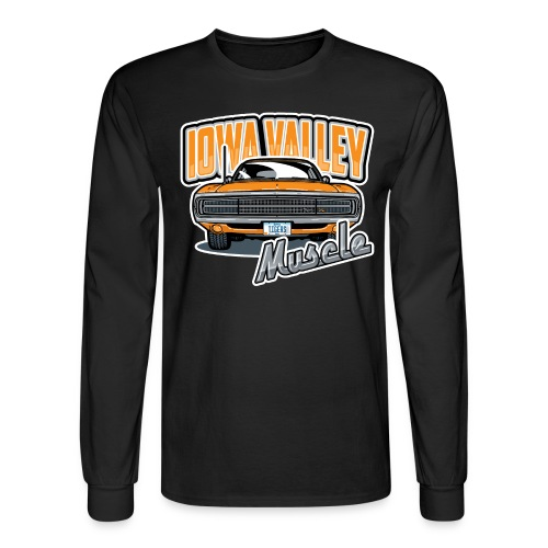IV Muscle D - Men's Long Sleeve T-Shirt