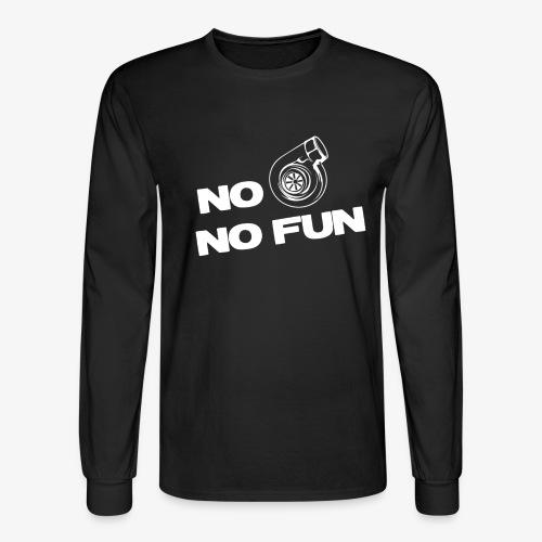 No turbo no fun - Men's Long Sleeve T-Shirt