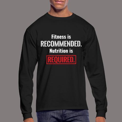 Mens_Nutrition - Men's Long Sleeve T-Shirt