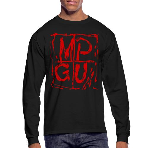 MPGU RED STROKE - Men's Long Sleeve T-Shirt