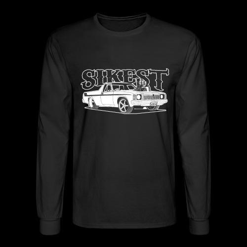 SIKEST - HJ UTE BLOWN BIG BLOCK DESIGN - Men's Long Sleeve T-Shirt