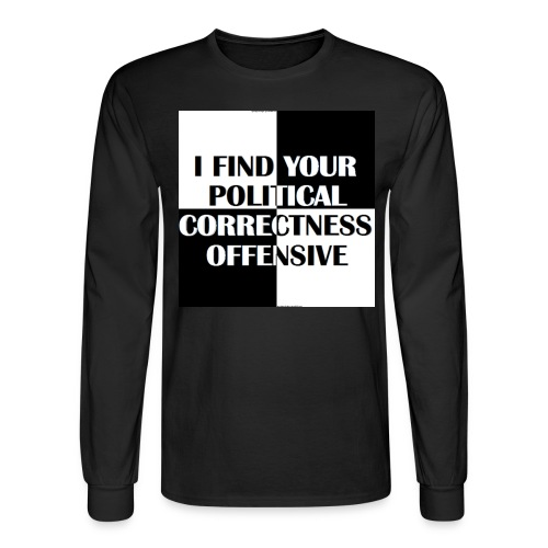pc offensive - Men's Long Sleeve T-Shirt
