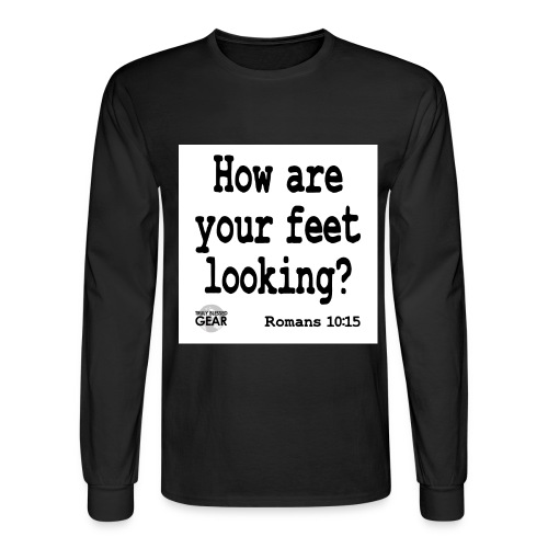 Feet Truly Blessed Gear - Men's Long Sleeve T-Shirt
