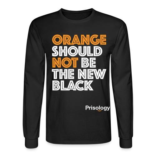 Prisology Logo - Men's Long Sleeve T-Shirt