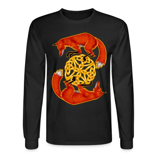 Circling Foxes - Men's Long Sleeve T-Shirt