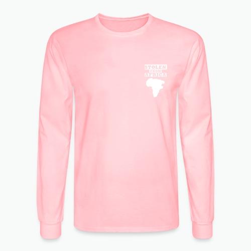 SFA LOGO WHITE - Men's Long Sleeve T-Shirt