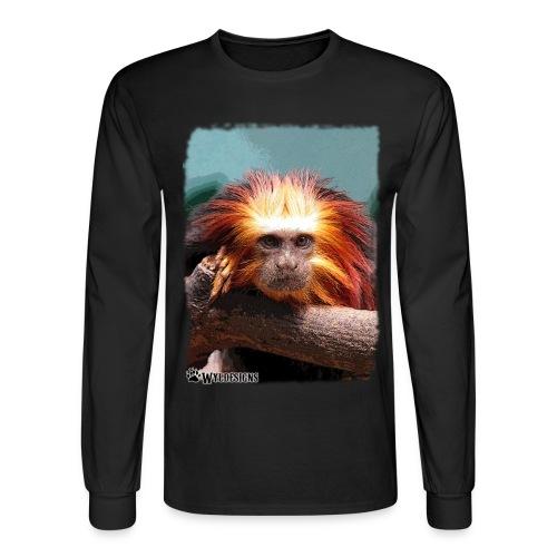 Monkey On Branch - Men's Long Sleeve T-Shirt