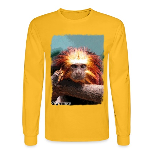 Monkey On Branch - Men's Long Sleeve T-Shirt