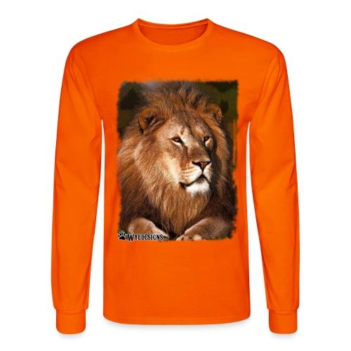 Regal Lion - Men's Long Sleeve T-Shirt