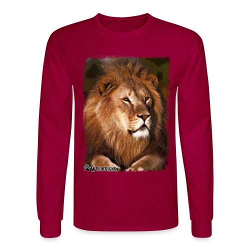 Regal Lion - Men's Long Sleeve T-Shirt