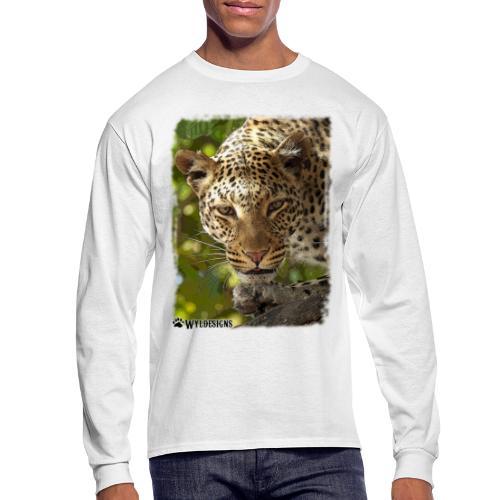 Leopard Stare - Men's Long Sleeve T-Shirt