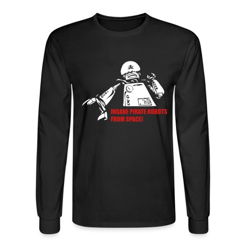 Insane Pirate Robots From Space - Men's Long Sleeve T-Shirt