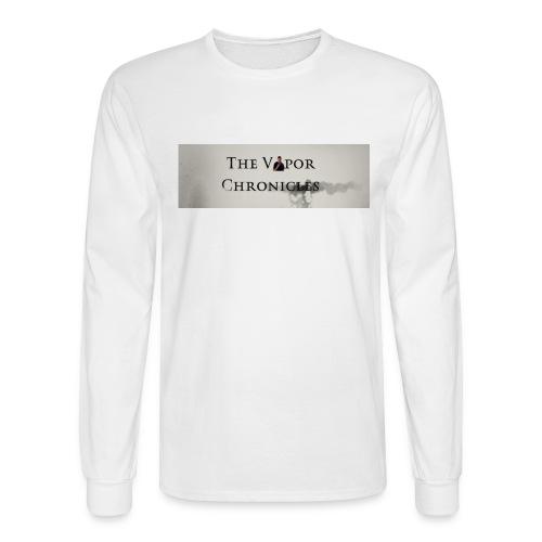 TVC LOGO Text - Men's Long Sleeve T-Shirt