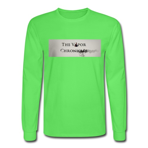 TVC LOGO Text - Men's Long Sleeve T-Shirt