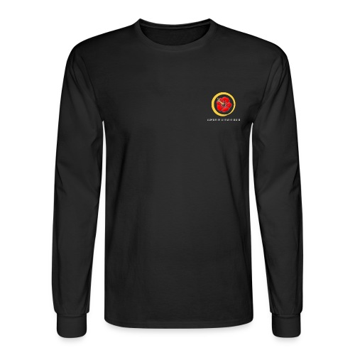 BDD Reverse png - Men's Long Sleeve T-Shirt