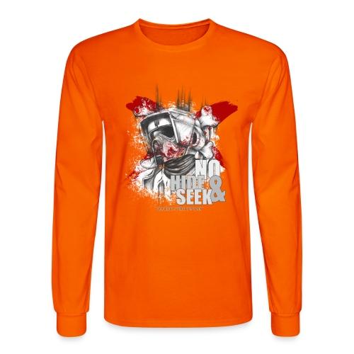No hide & Seek - Men's Long Sleeve T-Shirt