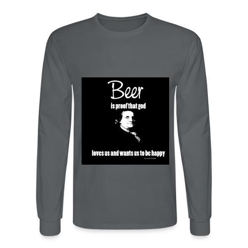 Beer T-shirt - Men's Long Sleeve T-Shirt