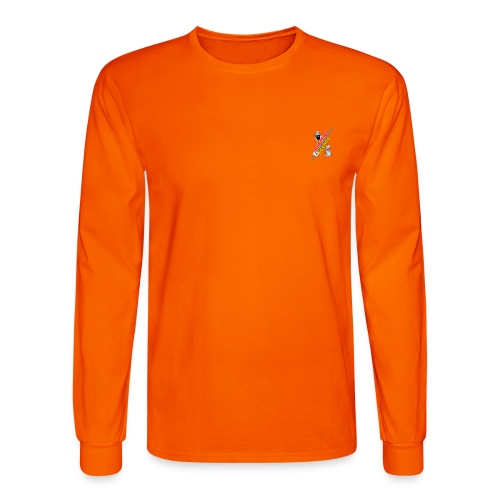 HackerAgentBackdropV2 png - Men's Long Sleeve T-Shirt