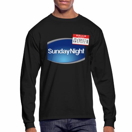 Sunday Night - Men's Long Sleeve T-Shirt