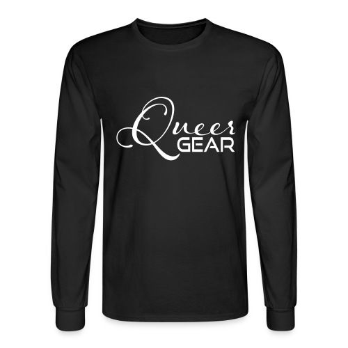 Queer Gear T-Shirt 03 - Men's Long Sleeve T-Shirt