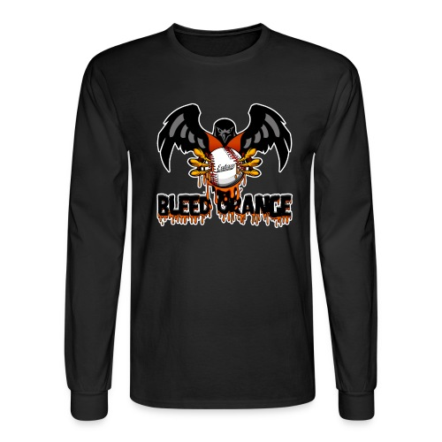 bleed orange shirt LOGO2 png - Men's Long Sleeve T-Shirt