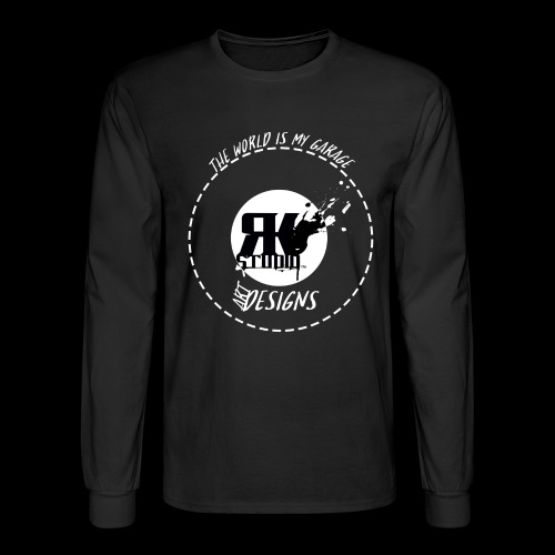 The World is My Garage - Men's Long Sleeve T-Shirt