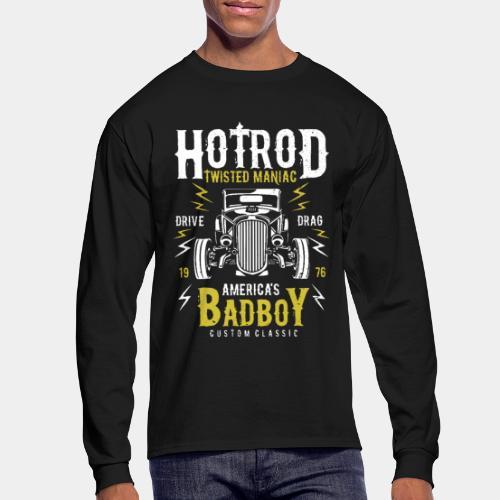 hotrod classic vintage car bad boy - Men's Long Sleeve T-Shirt