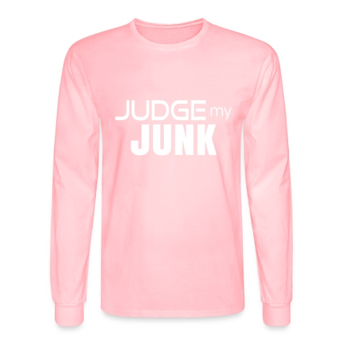 Judge my Junk Tshirt 03 - Men's Long Sleeve T-Shirt