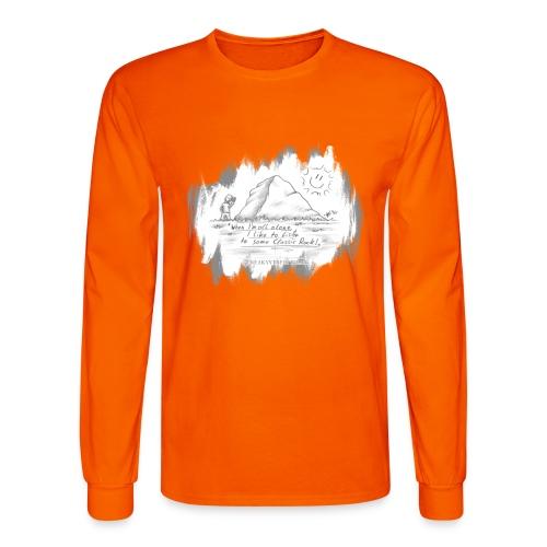 Listen to Classic Rock - Men's Long Sleeve T-Shirt