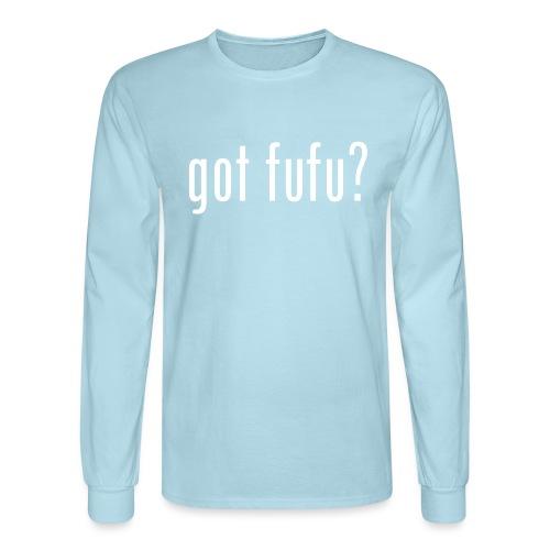 got fufu Women Tie Dye Tee - Pink / White - Men's Long Sleeve T-Shirt