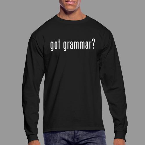 Got Grammar - Men's Long Sleeve T-Shirt