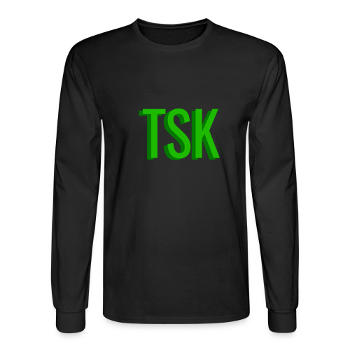 Meget simpel TSK trøje - Men's Long Sleeve T-Shirt