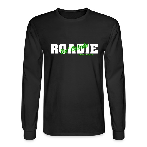 dc roadie dark2 png - Men's Long Sleeve T-Shirt