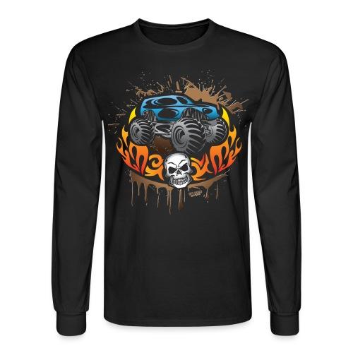 Monster Truck Shirt - Men's Long Sleeve T-Shirt