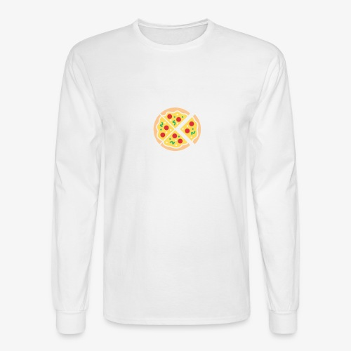 Do It For The Pizza - Men's Long Sleeve T-Shirt