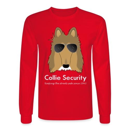 Collie Security - Men's Long Sleeve T-Shirt