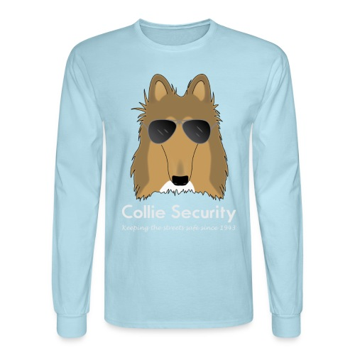 Collie Security - Men's Long Sleeve T-Shirt