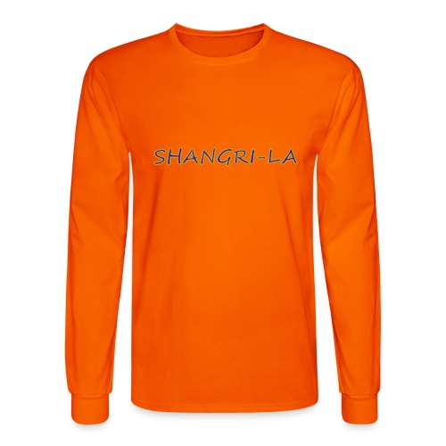 Shangri La gold blue - Men's Long Sleeve T-Shirt