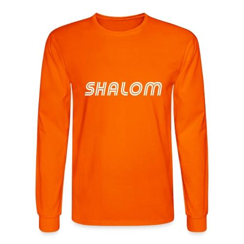 Shalom, Peace - Men's Long Sleeve T-Shirt