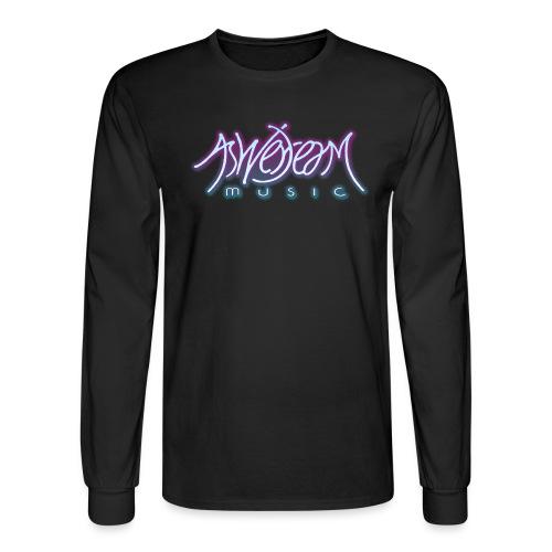Glow Logo - Men's Long Sleeve T-Shirt