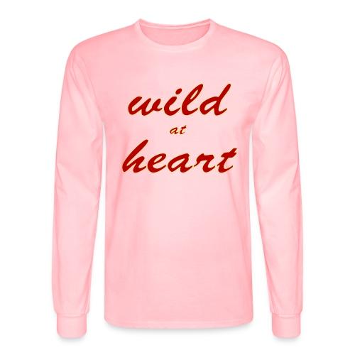 wild at heart - Men's Long Sleeve T-Shirt
