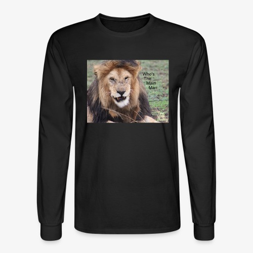 Who's The Main Man - Men's Long Sleeve T-Shirt