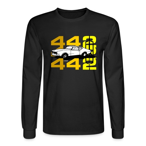 auto_oldsmobile_442_002a - Men's Long Sleeve T-Shirt