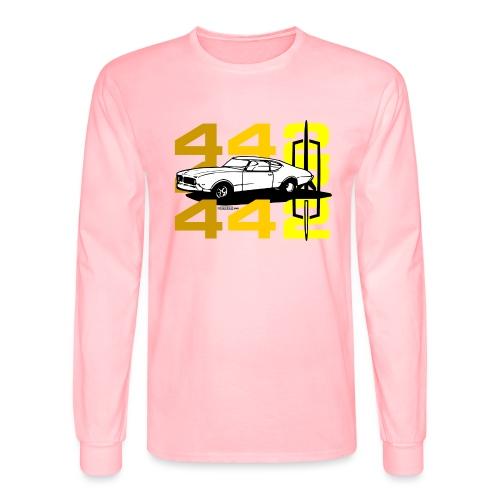 auto_oldsmobile_442_002a - Men's Long Sleeve T-Shirt