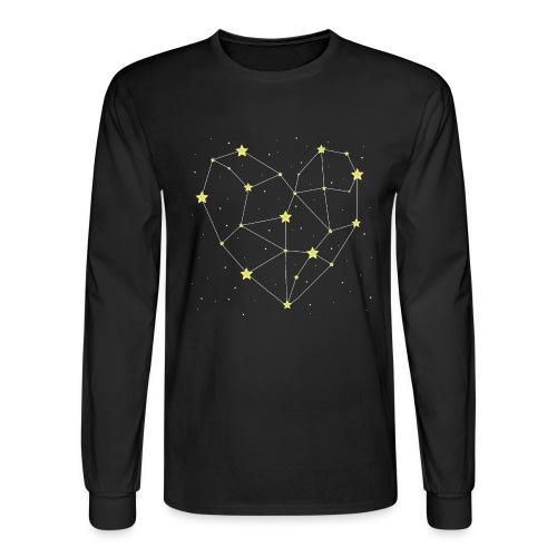Heart in the Stars - Men's Long Sleeve T-Shirt